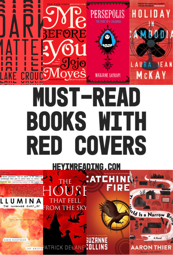These books with red covers are perfect to get a rainbow reading challenge started. Enjoy one of these YA books with red covers, non-fiction books with red covers, or fiction books with red covers. must-read books | book list | red books | red cover books | books to read