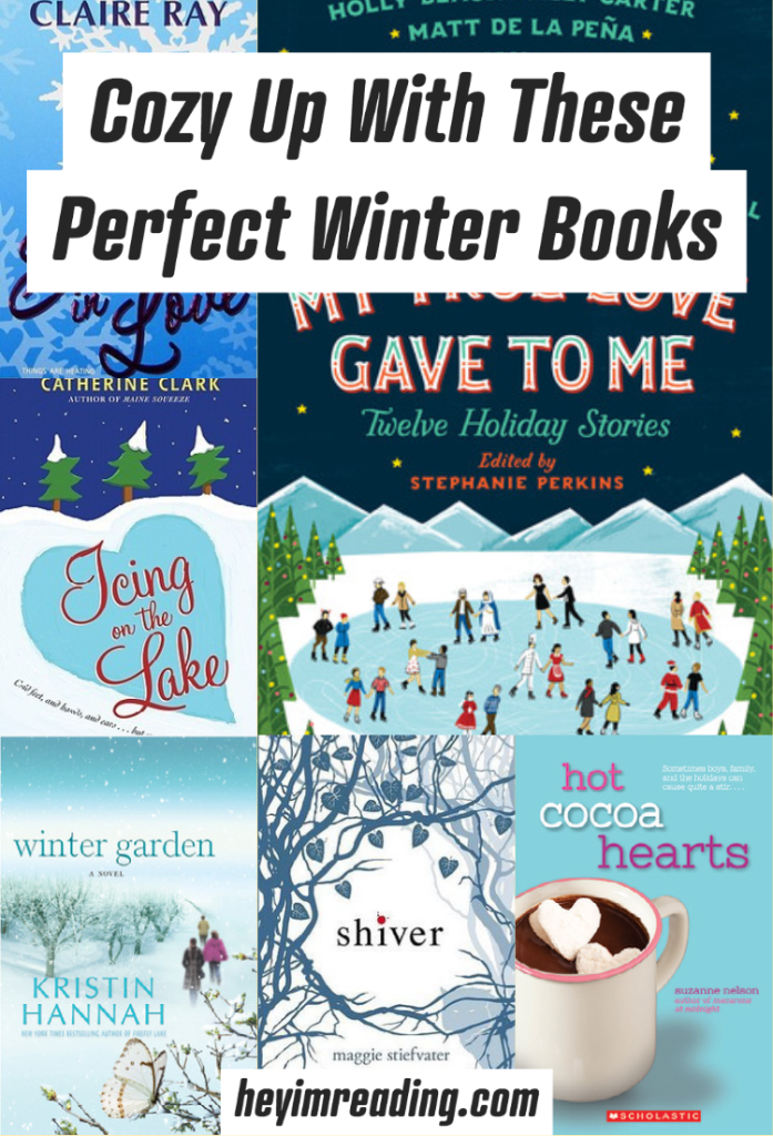 Here are some great winter books to read when it's snowing. Cozy up with these and some hot cocoa and get lost in the wonderful winter books. Winter books to read | winter books for adults | winter books to read when it's snowing | books to read when it's snowing | winter books | books to read in winter | snow books | snowy books | winter romance books